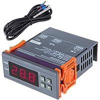 KKmoon Controlador digital de temperatura con sensor -40