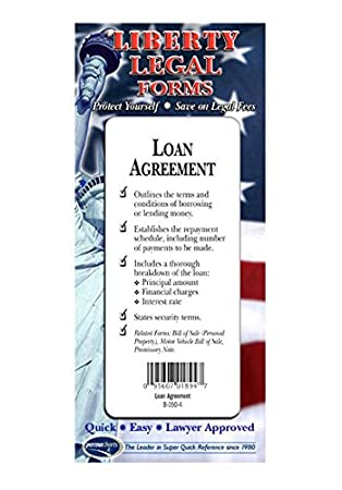 Amazon loan agreement usa do it yourself legal forms by loan agreement usa do it yourself legal forms by permacharts solutioingenieria Images