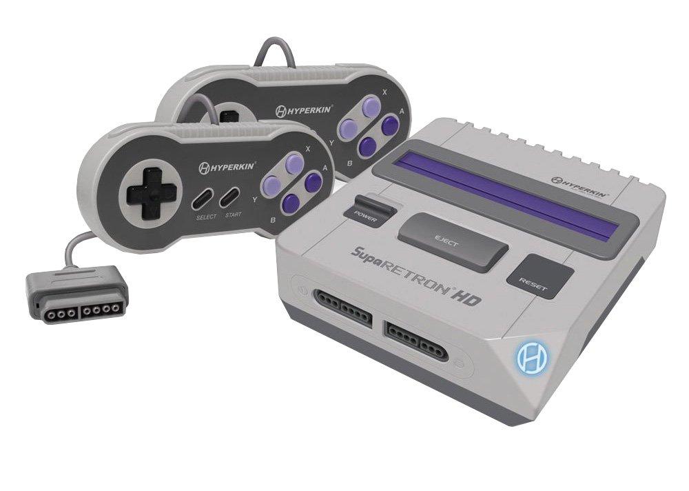 Hyperkin SupaRetroN HD Gaming Console for Super NES/Super Famicom: Video Games