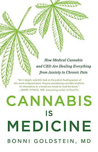 Book Cover: Cannabis Is Medicine: How Medical Cannabis and CBD Are Healing Everything from Anxiety to Chronic Pain