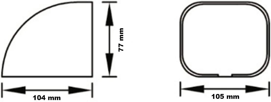 Deckendurchbruch TA 100 EXC Kanalsystem 10240 Deckenanschlu/ß