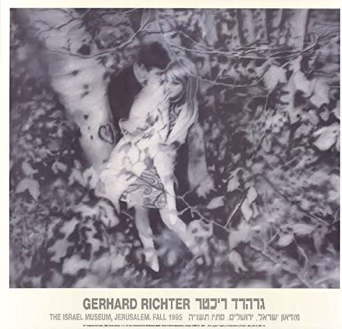 Gerhard Richter-Lovers in the Forest-1995 Poster