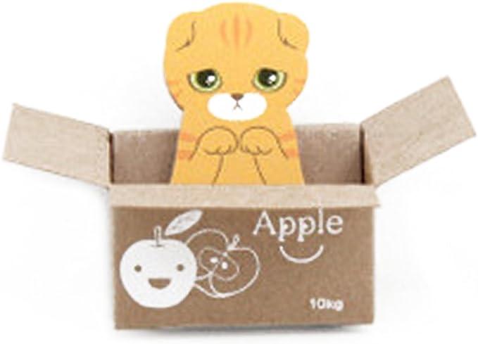 Lindo Gato Perro Scrapbooking Publicar Memo Pad Kawaii 3D ...