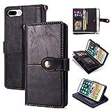 iPhone 7 Plus Case, 8 Plus Case, Soft Leather Case