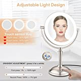 AmnoAmno LED Makeup Mirror-10x