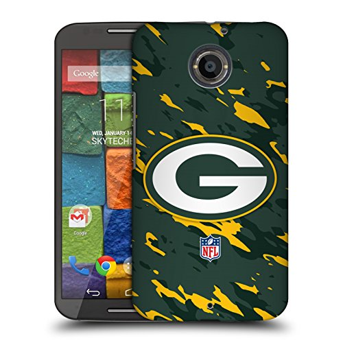 Official NFL Camou Green Bay Packers Logo Hard Back Case for Motorola Moto X (2nd Gen)
