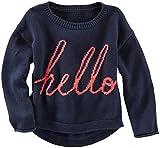 OshKosh B'gosh Little Girls' Graphic Crew Sweater (Toddler/Kid)