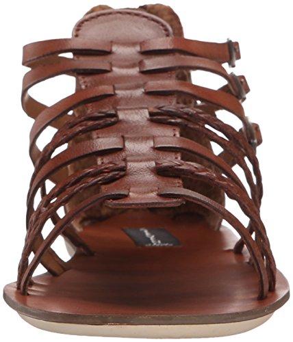 Steven by Steve Madden staxxs gladiador sandalias de la mujer Cuero color Cognac