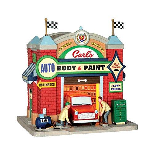 Village Auto Body >> Amazon Com Lemax Village Collection Carl S Auto Body