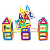 Best Child Gifts - Magnetic Blocks,Magnetic Building Set, Magnet Tiles Educational Stacking Review