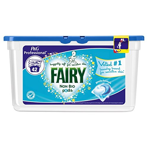 ( 42s Pack ) Fairy Non Bio Professional Washing Capsules 42ct