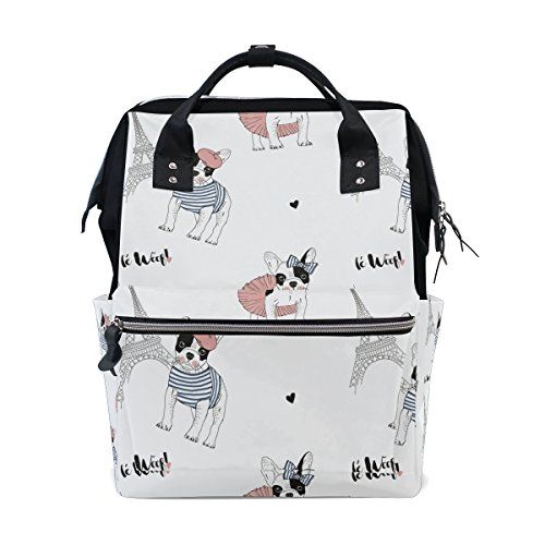 french bulldog messenger bag - 8