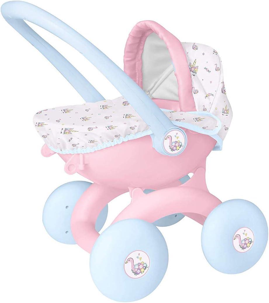 Hti Toys Games Babyboo 4 En 1 My First Cochecito De Bebé Para Niños De 3 Años Amazon Es Bebé