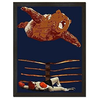 Bearial Attack Art Print