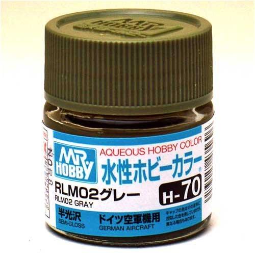 水性ホビーカラー H70 RLM02グレー