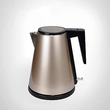 WUANNI Hervidor Eléctrico 1.2L Doble Pared 304 Acero Inoxidable Caldera De Agua Cafetera Apagado Automático Y Protección contra Ebullición BPA-Gratis para ...