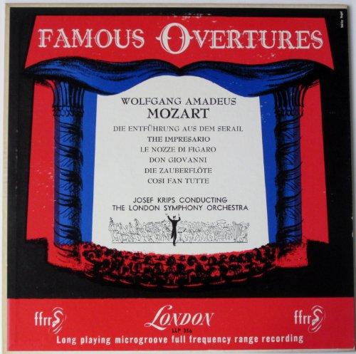 Famous Overtures: Wolfgang Amadeus Mozart: Die Entfuhrung Aus Dem Serail / The Impresario / Le Nozze Di Figaro / Don Giovanni / Die Zauberflote / Cosi Fan Tutte