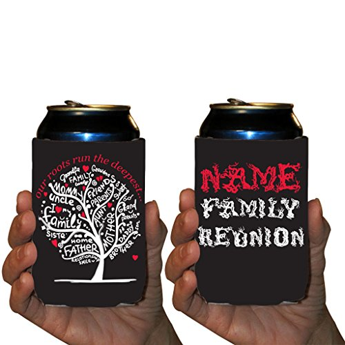 - VictoryStore Can and Beverage Coolers - Custom Family Reunion, Deep Roots Party Pack, Set of 50