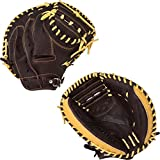 Mizuno 312446.R883.23.3350 Franchise GXC90B2 - Catcher's Mitt, Coffee Silver, 33.5'