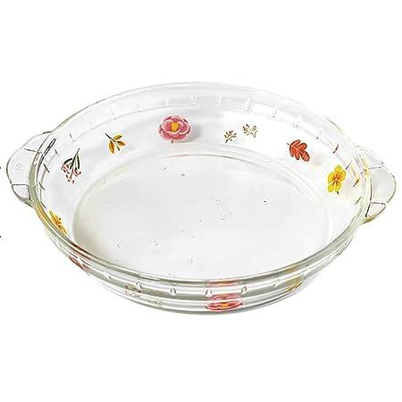 Zhao Li Alto Borosilicato Plato de Vidrio Resistente al Calor ...