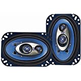 Pyle PL463BL 4-Inch x 6-Inch 240-Watt 3-Way Speakers