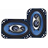 Pyle PL463BL 4-Inchx6-Inch 240W Three-Way Speakers