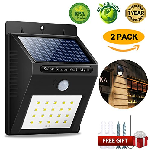 Solar-Sensor-Lights-Solar-Led-Sensor-Lights-20-LED-Solar-Motion-Sensor-Lights-Waterproof-Wall-Solar-Lights-Fence-Solar-Lights-Motion-Sensor-Outdoor-Solar-Lights-for-Deck-Fence-Steps