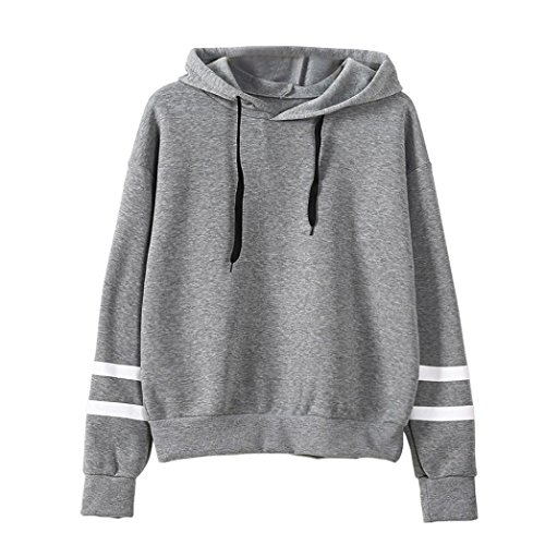 Plus Size Hoodie Euone Women Loose Sweatshirt Jumper Hooded Pullover Top