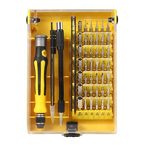 NEXGADGET 46 en 1 Destornilladores Precisión Herramientas Profesional para Iphone, Smartphones, Tablets, Ordenadores...