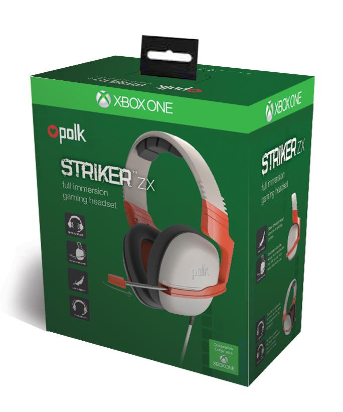 polk audio striker zx headset orange xbox one amazon co uk polk audio striker zx headset