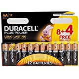 Duracell Plus Pile AAA, confezione da 12