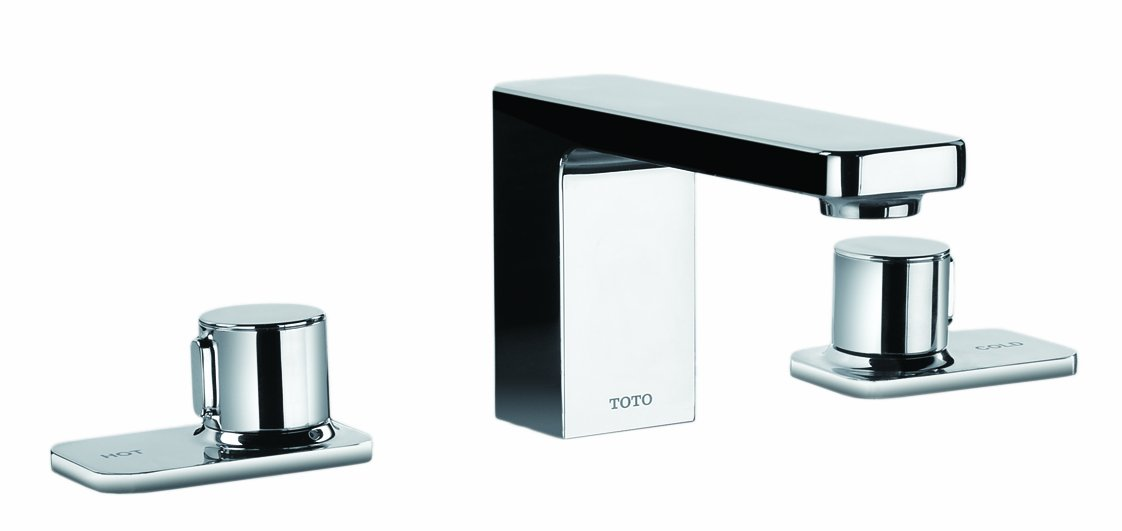 TOTO TL170DD#CP Renesse Widespread Lavatory Faucet, Chrome