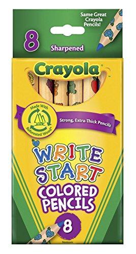 Crayola Write Start Colored Pencils product image