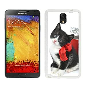Provide Personalized Customized Christmas Cat White Samsung Galaxy Note 3 Case 27