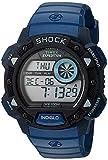 Timex Mens TW4B07400 Expedition Base Shock BlueBlack Resin Watch