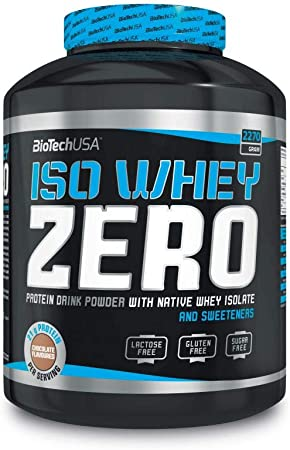 BioTech USA - Iso Whey Zero, sin lactosa, 2270g Caffé Latte ...