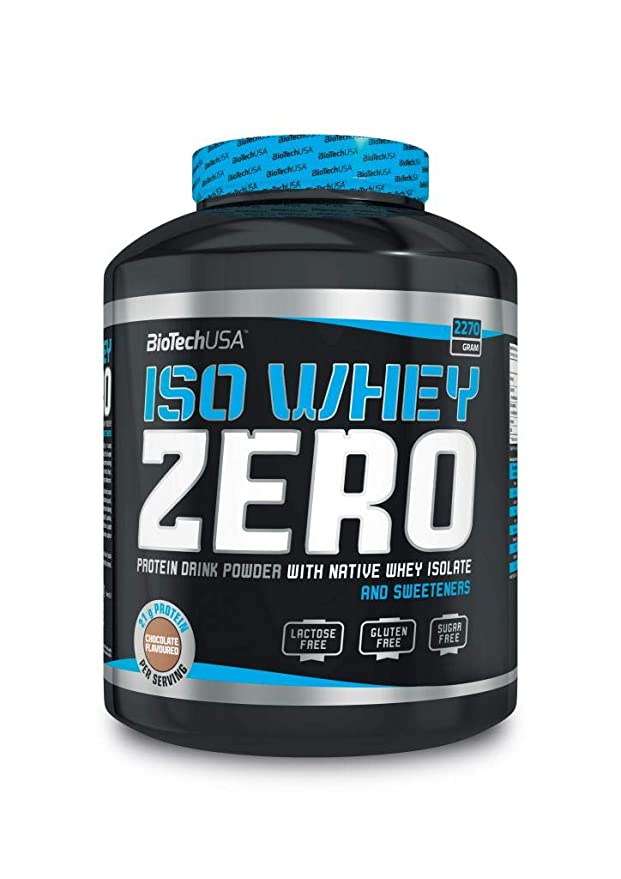 BioTech Iso Whey Zero Proteínas Sabor Café Latte - 2270 gr