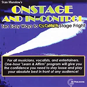 Onstage and In-Control Audiobook