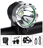 Augymer AUM721 Rechargeable Waterproof 1200lm 10000MAh Cree LED Bike Light
