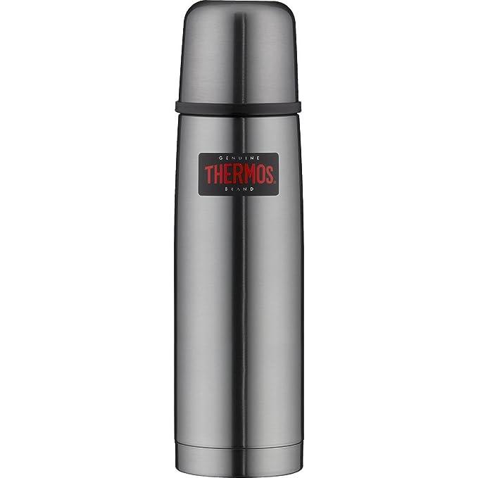 49 opinioni per Thermos bottiglia termoisolata leggera e compatta, acciaio inox satinato,