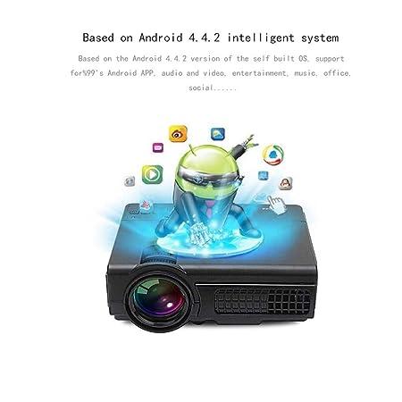 SEXTT Proyector HD, proyector doméstico de 1200 lúmenes ...