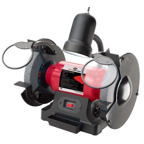 AFF 31520 8'' Bench Grinder, 3/4 HP, 120V, 4.8 Amp, 60 Hz, 3,450 RPM