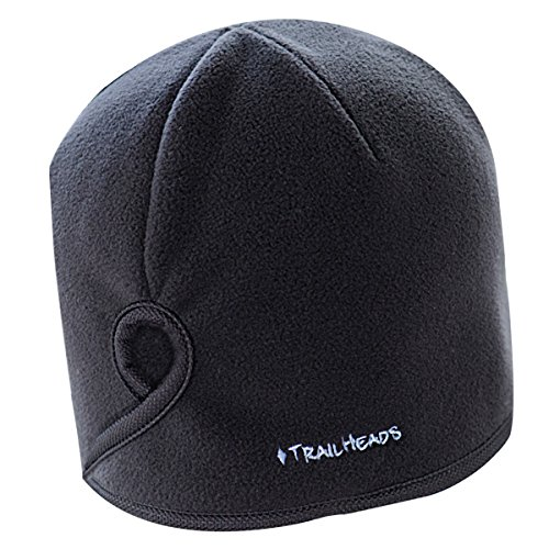 TrailHeads Women's Running Ponytail Hat - black / black