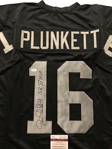 Autographed/Signed Jim Plunkett
