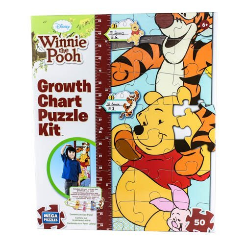 Disney Winnie the Pooh Growth Chart Puzzle Kit (Winnie The Pooh Height Chart)