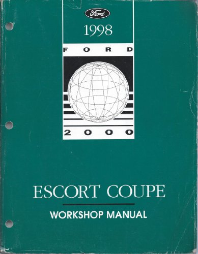 1998 Ford Escort Coupe Workshop Manual (ZX2)