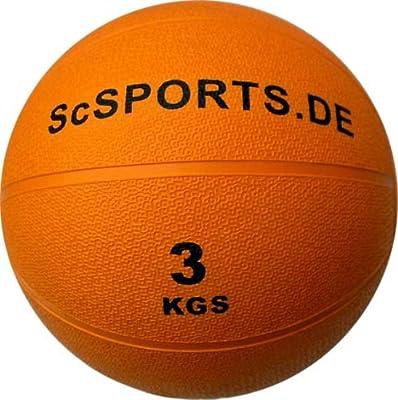ScSPORTS - Balón Medicinal (3 kg), Color Naranja: Amazon.es ...