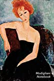 Modigliani Notebook: Red-headed Girl in Evening Dress Journal | 100-Page Beautiful Lined Art Notebook | 6 X 9 Artsy Journal Notebook (Art Masterpieces)irl in Evening Dress