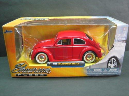 1/24 1959 VWビートル/ベビームーンホイル レッド JD92374RD