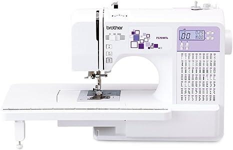 Brother máquina de Coser electrónica, Acero Inoxidable, Blanco y ...